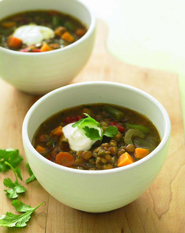 Lentil and Sweet Potato Stew - NEW FROM ANNA