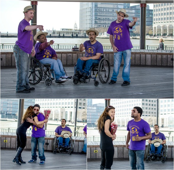 Uniquely Abled performing