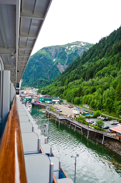 Juneau from the cruise ship