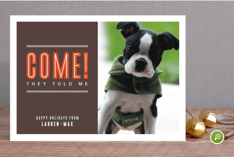 minted pet card