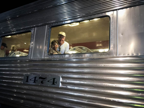 dining train car
