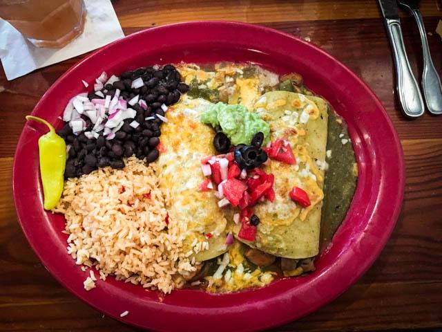 Artichoke Enchiladas