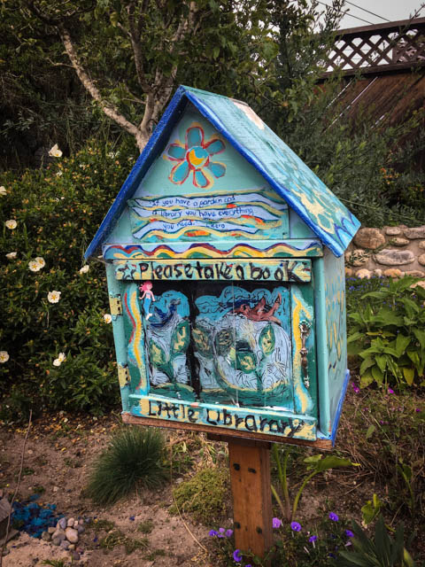 free library in Pacific Grove