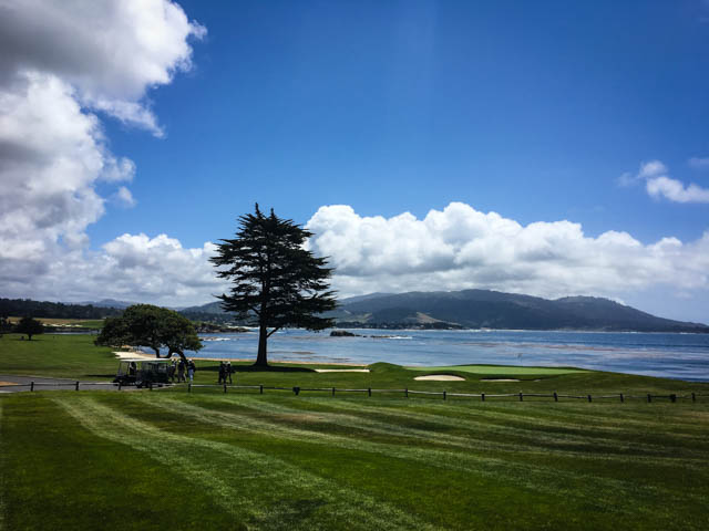 Pebble Beach golf area
