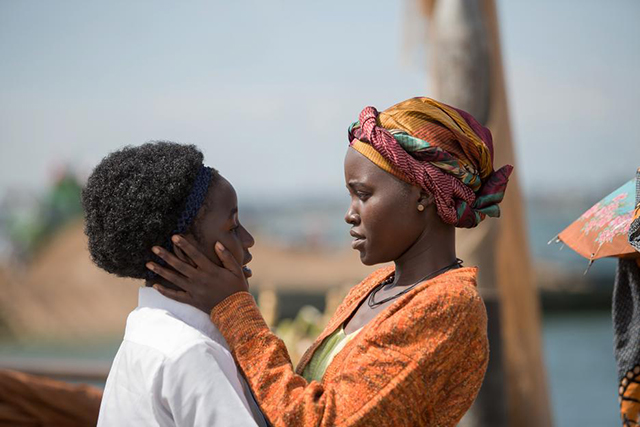 Phiona and her Mother in Queen of Katwe