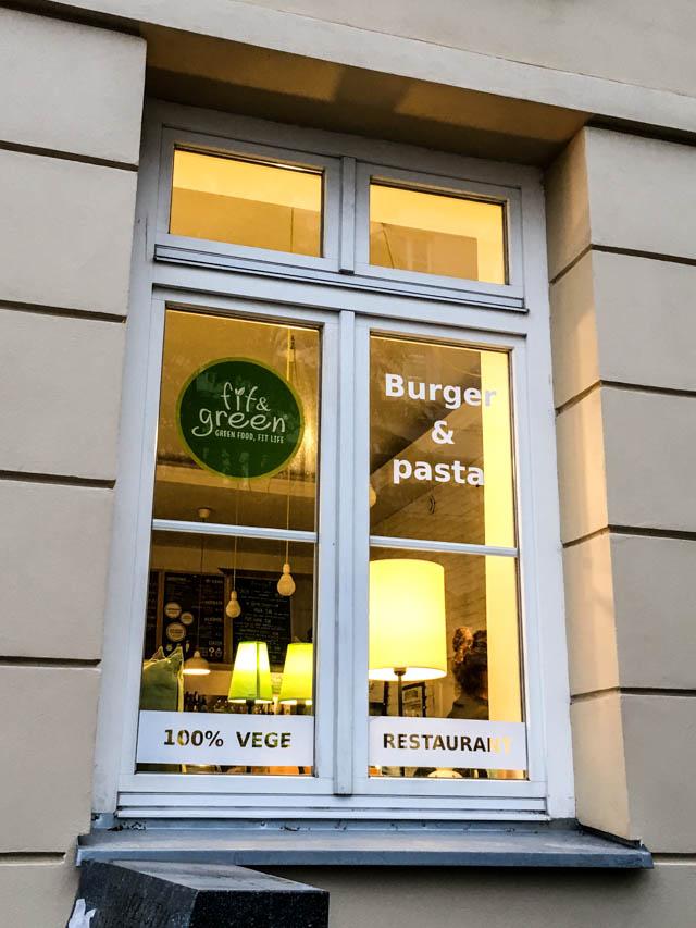 vegan restaurant Warsaw