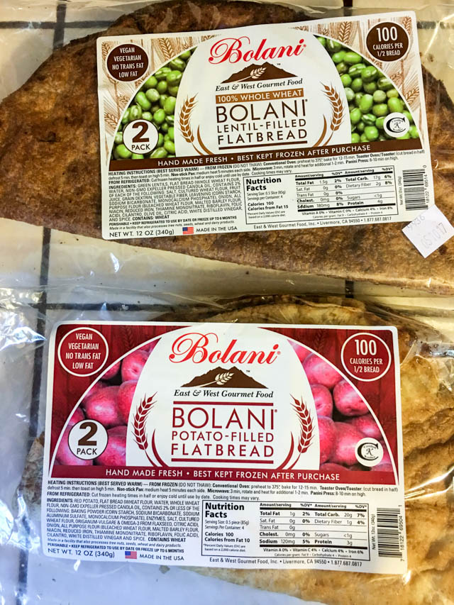 East and West Gourmet Foods Bolani