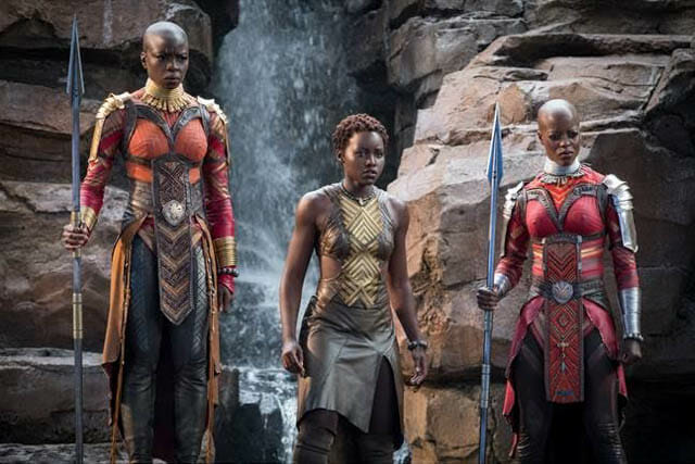 Black Panther strong women