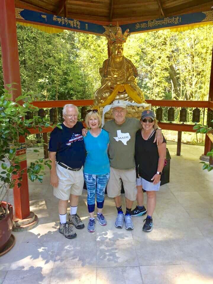 Hiking at Land of Medicine Buddha