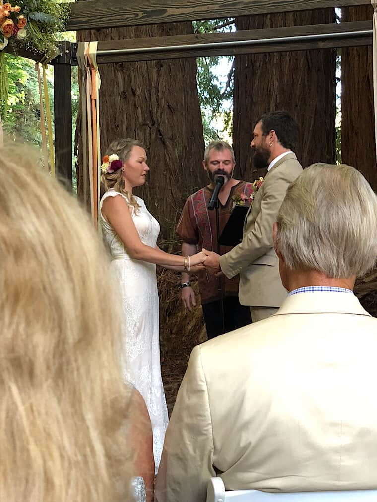 Jennie and Patrick's wedding