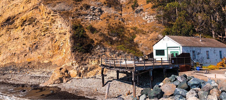 Point Arena dock