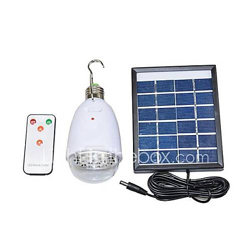 2W 22-LED Remote Control Solar Lighting System Mobile ...