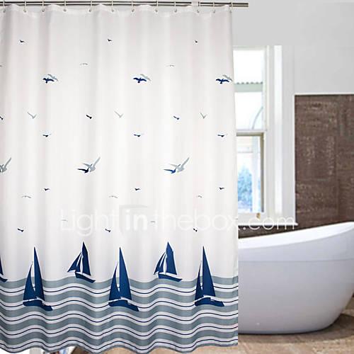 Interdesign thistle tenda da doccia, tenda per vasca da bagno morbida e. Tende Da Doccia Tutte Le Offerte Cascare A Fagiolo