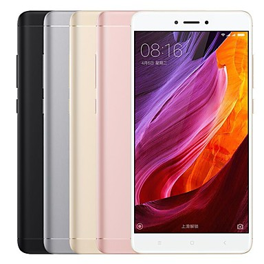 "XIAOMI REDMI NOTE 4X 5.5 "" MIUI 4G Smartphone (Dual SIM Octa Core 13 MP 3GB + 32 GB Black Grey Gold Pink)"