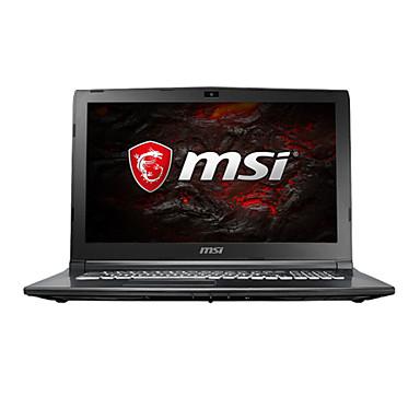 MSI gaming laptop 15.6 inch Intel i7-7700HQ 8GB DDR4 1TB HDD Windows10 GTX1050Ti 4GB GL62M 7REX-1252CN