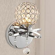 luces modernas simples de pared de cristal 3w