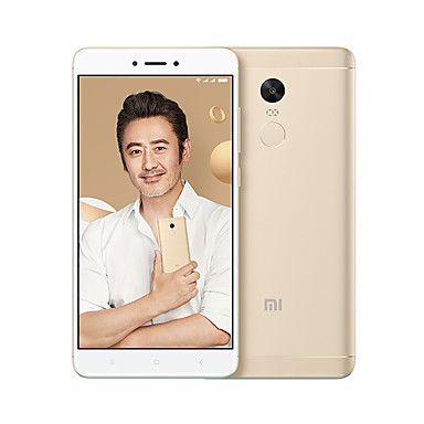 XIAOMI REDMI NOTE 4X 5.5 inch 4G Smartphone (4GB 64GB Deca Core 13 MP Gold)