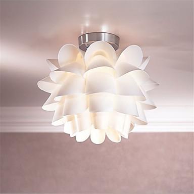 White Flower Ceiling Light 1 Light Pendant Living Room Bedroom Dining Room Kitchen Hanging