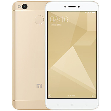 "Xiaomi® Redmi 4X 5.0 "" MIUI 4G Smartphone (Dual SIM Octa Core 13 MP 2GB + 16 GB Black Gold Pink)"