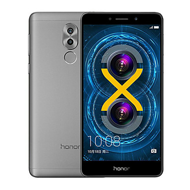HUAWEI Honor 6x 5.5 2.5D Android 6.0 4G Metal Fingerprint Smartphone (Dual SIM 16nm Octa Core 12MP Dual camera 3GB 32GB 3340mAh)