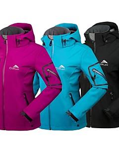 Tops / Chaqueta / Chaquetas Shoftshell / Chaquetas de Ski/Snowboard (Rosa / Negro / Azul claro / Morado) -Impermeable / Transpirable /