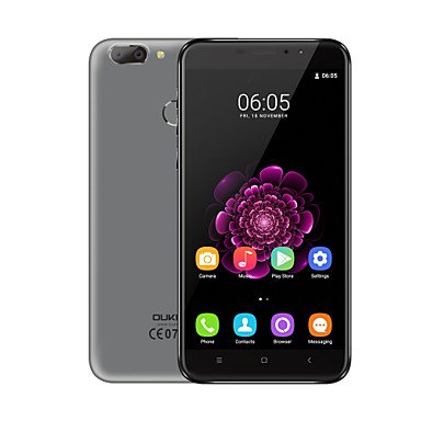 Presale OUKITEL U20 PLUS 5.5 Android 6.0 4G Smartphone (Dual SIM Octa Core 13 MP 2GB 16 GB Grey / Gold)