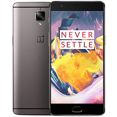 "Oneplus 3T 6GB + 128 GB 5.5 "" Android 6.0 4G Smartphone (Dual SIM Quad Core 16MP 6GB + 128 GB Grey Gold)"
