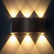 6w luz LED de pared moderno con dispersión de luz de diseño de ciencia ficción 90-240v