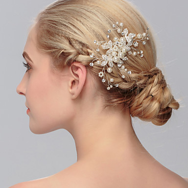 women s pearl headpiece wedding special occasion casual office career outdoor hair