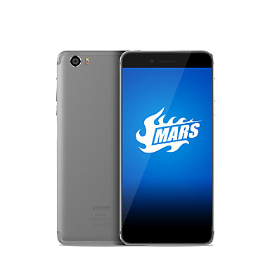 "Vernee Mars 5.5 "" Android 6.0 4G Smartphone (Dual SIM Octa Core 13 MP 4GB + 32 GB Grey Gold)"