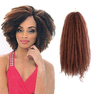 16 inch folio crochet braid havana mambo twist afro kinky curly hair extension with crochet hook