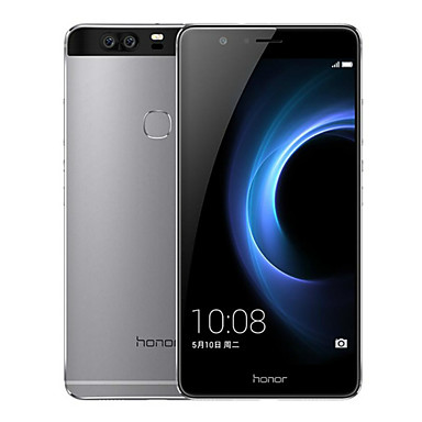 Huawei Honor V8 5.7 2K 2.5D Android 6.0 4G Metal Smartphone (Fingerprint Dual SIM Octa Core Dual 12MP 4GB 64GB 3500mAh)