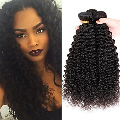 7a mongolian kinky curly hair 3 bundles natural black 100 afro human brazilian curly virgin