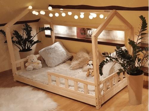 le lit au sol bebe montessori d oliveo