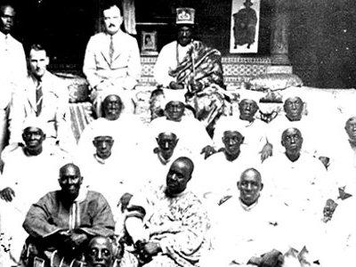 Oba Falolu Dosumu in the far end