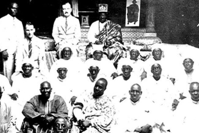 Oba Falolu of Lagos
