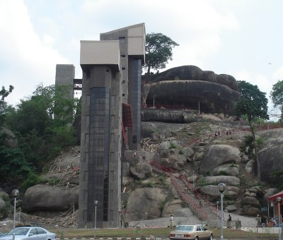 Olumo Rock as a tourist place was modernized by Governor Gbenga Daniel.