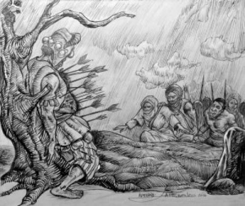 Afonja killed by the Jamas