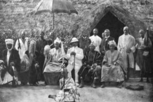 Egba United Government officials 1904