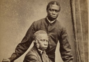 Bishop Crowther and his son Dandeson, 1870s