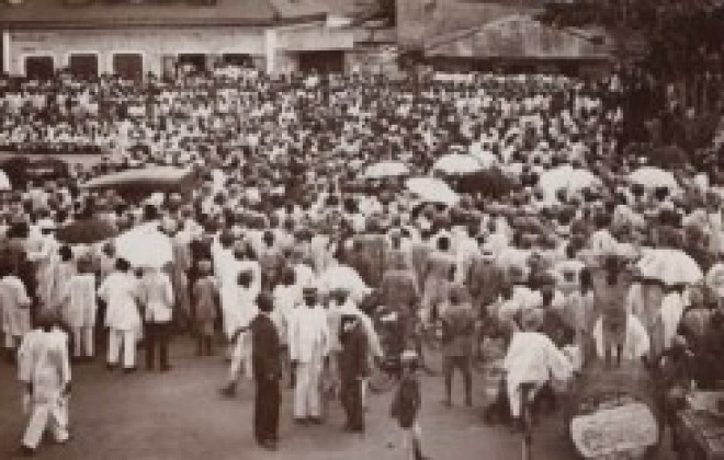 People's Union 1911 Lagos town meeting