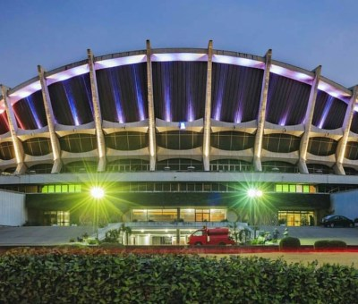 National Theatre, Iganmu at night. Source: Jumia Travel