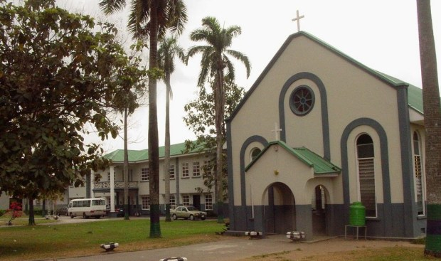St. Gregory's College Chapel, Obalende