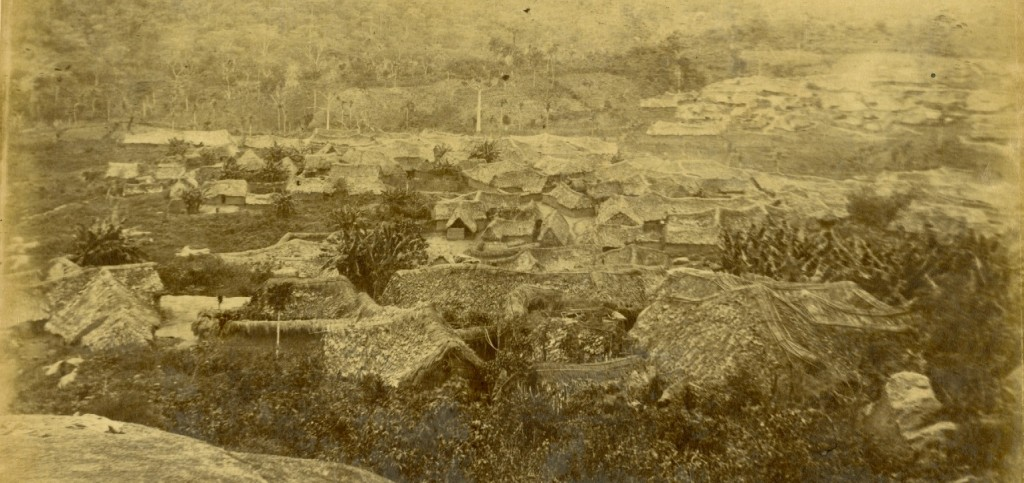 Kiriji War time picture of the Ijesha War camp