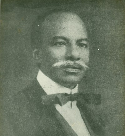 Herbert Macaulay in his signature style