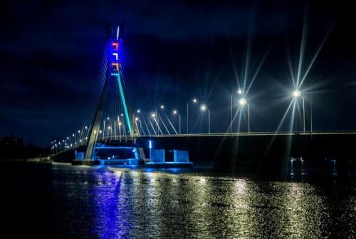 Ikoyi bridge linking Lekki