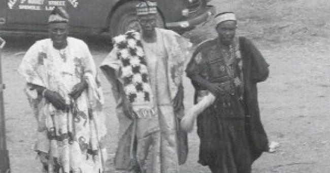 Ijebu Igbo elders and chiefs in a 1979 photo
