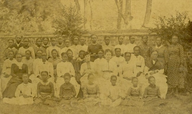Gender education taught in Female Institute shown here, Lagos, 1886