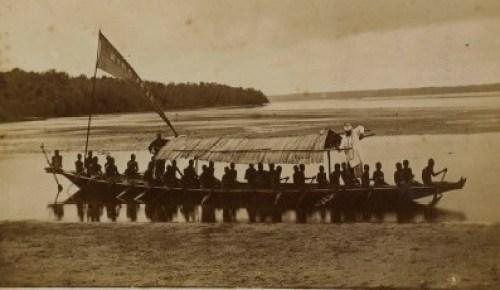 Jaja of Opobo's canoe c.1882