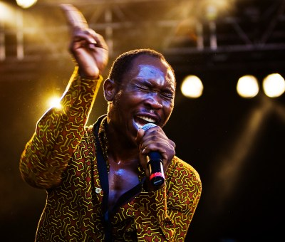 Seun Kuti in concert